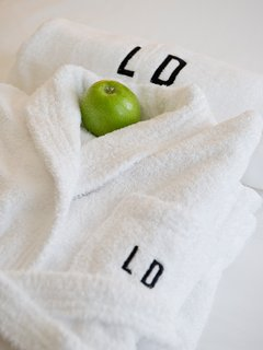 Bedlinen, towels and bathrobes are left for your comfort