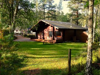 Tormore Chalet with log burning stove, Carrbridge