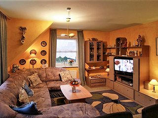Stylish apartment with garden and WiFi on the island Sylt, in Germany, Tinnum