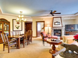 Newly Remodeled in Extreme Luxury, 2-Bedroom Slope-Side Crystal Peak Lodge, Breckenridge