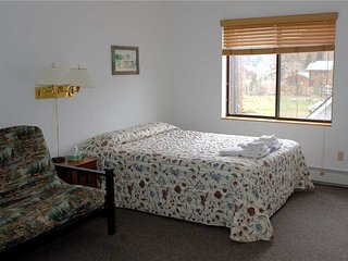 Hotel Style Room with Kitchenette, Futon and Full Bath at Three Rivers Resort in Almont (Lodge Room F)