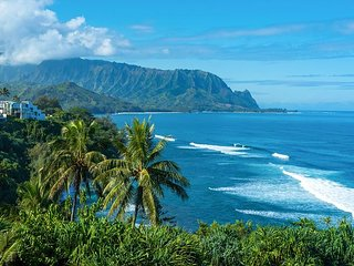 15% off available March/April!! Breathtaking Ocean and Mountain Views!, Princeville