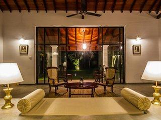 Left side living room