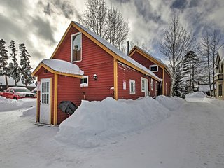 NEW! Cozy Breckenridge Studio Cabin - Near Slopes!