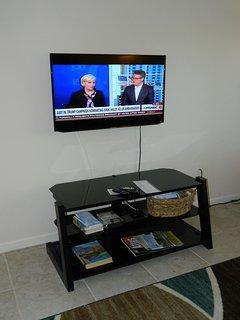 43 inch TV in main room