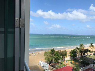 Beautiful Modern Apartment - Isla Verde  Ocean Views- Direct Access to the Beach