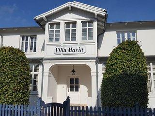 Villa Maria - Ferienwohnung in der kleinen, feinen Bäderstilvilla