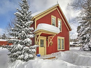NEW! 2BR Breckenridge Cabin - Walk to Main Street!