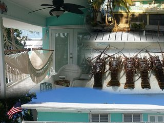 Ocean Side View on Canal, Great for Fishing, Near Sombrero Beach & Restaurants, Marathon Shores