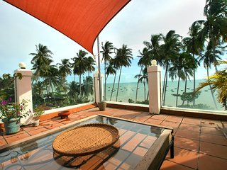 apartment in beach front villa with swimingpool, Mui Ne
