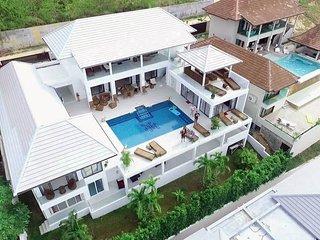 Nouvelle villa moderne vue mer, Mae Nam