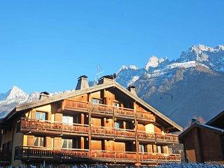 Mont Block balcony apartment, Chamonix