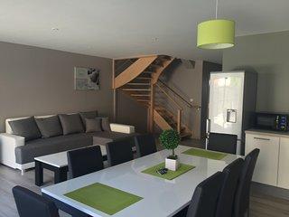Maison Merlimont PLAGE+SPA+ JARDIN + GARAGE - 6 à 8 personnes dans les Dunes-Vil, Merlimont-Plage