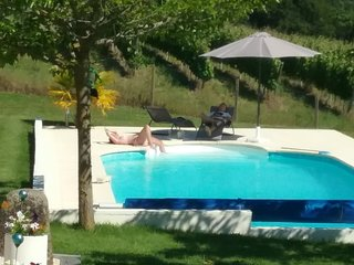 Luxury gite appartment with private heated pool. Completed 2016, Aignan