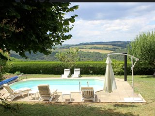 Maison Julia - House with 5 rooms in Mur-de-Barrez, with private pool, furnished garden and WiFi