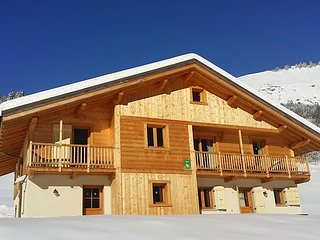 Amazing chalet with balcony & Wifi