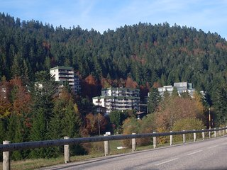 Apartment with one room in La Bresse, with wonderful mountain view and furnished balcony