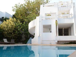 Dar Gammart - Villa with 5 rooms in Marsa, with private pool, enclosed garden and WiFi - 400 m from the beach, Gammarth