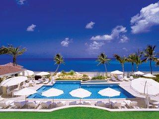 Luxury 9 bedroom St. Martin villa. Beachfront at Plum Bay Beach!