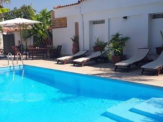 Villa Brunella Napoli piscina solarium sauna spa sala fitness privata - golf