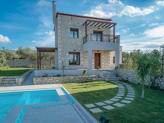 Olive Garden Villas  ( Anthelia )  with private pool, Panormos