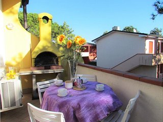 Big Apartment with Terrace & Barbecue - Residence with Pools and Private Garden