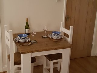If you fancy a night in, relax in the dinning area and then retire to the comforts of the sofa