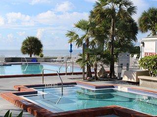 Key West Cabana, 1400 sf Two Bedroom Beach Side Condo on the Atlantic