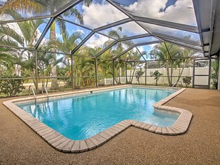 NEW! 3BR Cape Coral House on Freshwater Canal!