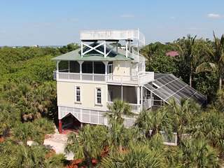 Upscale Beach View Home:  4 Bdrm / 3 Bath, Pool, Spa, Elevator, Steps To Beach