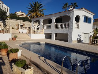 Picturesque villa in Calpe