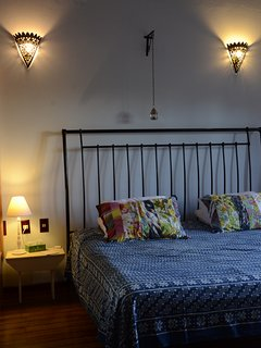 Ensuite with super king size bed, balcony, free wi-fi.