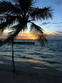 Roatan sunset