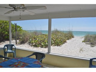 On the Beach!  Blue Dolphin 2 Private beach!  Spectacular sunsets!  Shark teeth!, Manasota Key