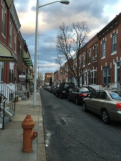 our street in South Philly