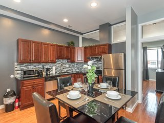 Luxury Center City 2BR/2Bath by Convention Center, New, Modern & Spacious  -3A, Filadelfia