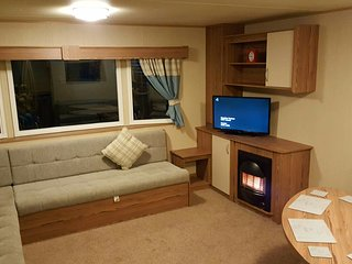 Luxurious swift HORIZON 6 month old 8 Berth Caravan For Hire, Berwick upon Tweed