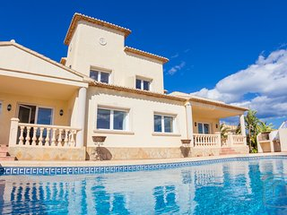 5 bedroom Villa in Calpe, Spain : ref 2096110