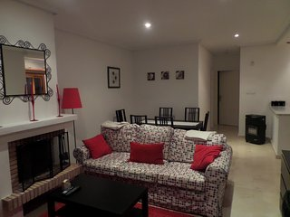 living and dinning areas