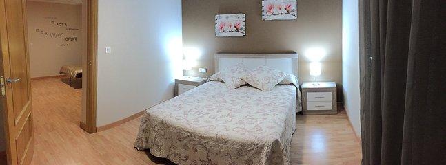 Habitación matrimonio con sofá cama (3 pers)