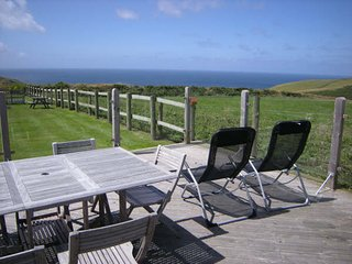 Detatched studio Barn Conversion, sea views Boscastle, Cornwall