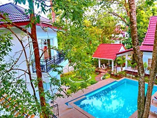 K Chang 6BR, 7 BA w/ pool and seaview roof terrace, Ko Chang