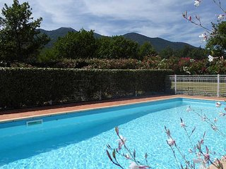 Vell-Roure, South France villa with pool, air conditioning, 5 bedrooms, Villelongue-dels-Monts