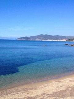 Nearby sandy beaches
