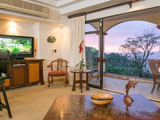 Shana Residences #322 Ocean-View Luxury Condo, Parc national Manuel Antonio