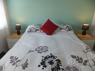 Main bedroom - king sized bed