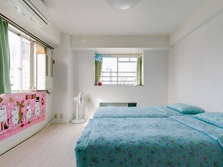 osaka namba private apartment with free wifi