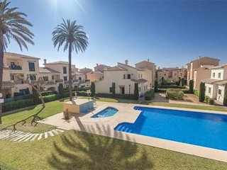 Javea Port, private south facing garden, outdoor & indoor pools