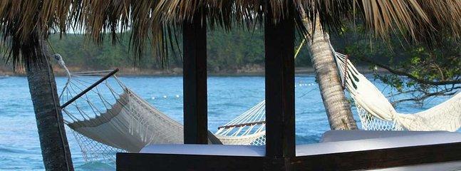 Ahhhh.  A beach hammock.