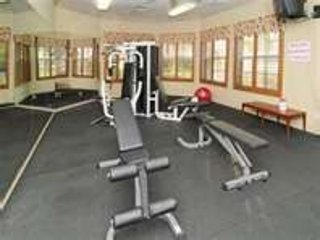 Health Club level fitness rooms;  weights and cardio